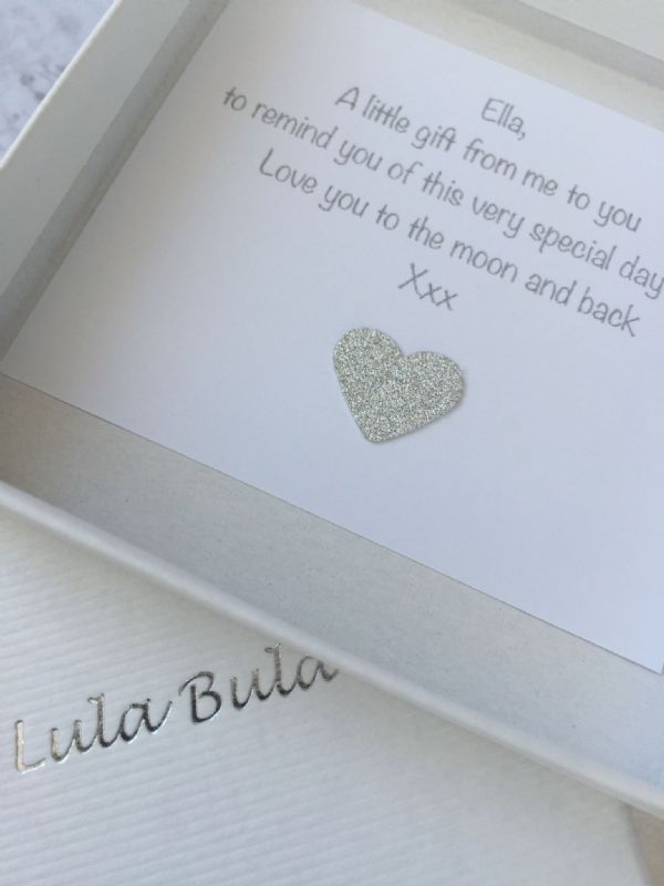 16th birthday silver jewellery gift for a granddaughter - FREE ENGRAVING